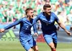 França leva susto no começo, mas reage com Griezmann e elimina Irlanda