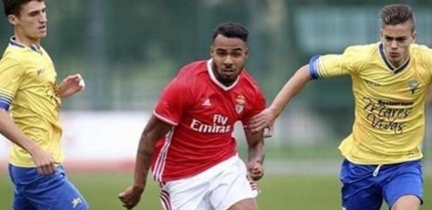 Vinicius Ferreira, como é conhecido em Portugal, estreou com gol pelo Benfica