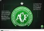 Chapecoense anuncia novas estrelas no escudo para homenagear vítimas