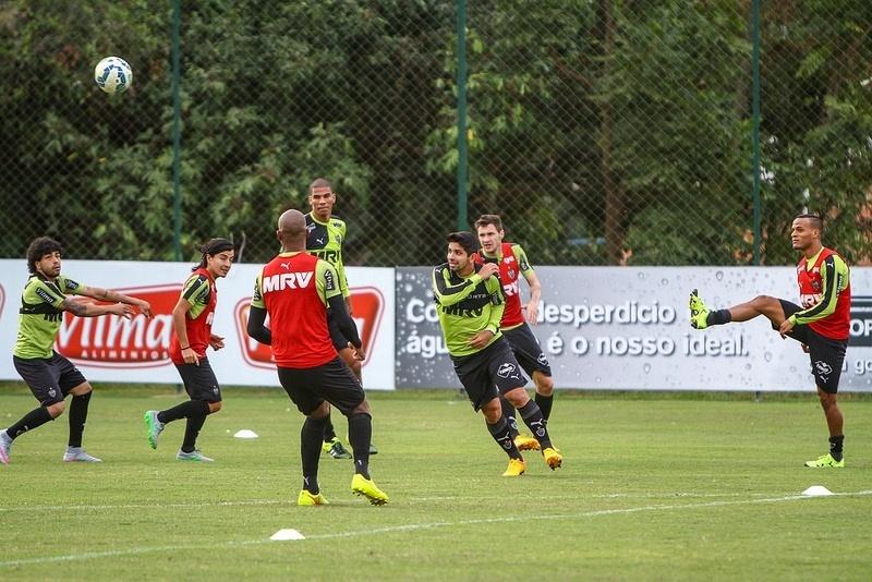 Guilherme retornou do México e já treinou no Atlético-MG neste segunda-feira