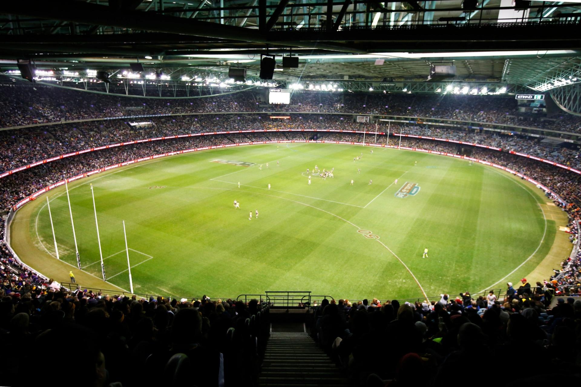 Ettihad Stadium, em Melbourne, será o primeiro estádio a receber um evento do UFC
