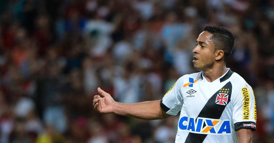 Jorge Henrique foi o autor do gol da vitória do Vasco sobre o Flamengo