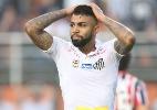 Santos fez de tudo para evitar pressão a Gabigol contra a Ponte Preta - Rivaldo Gomes/Folhapress