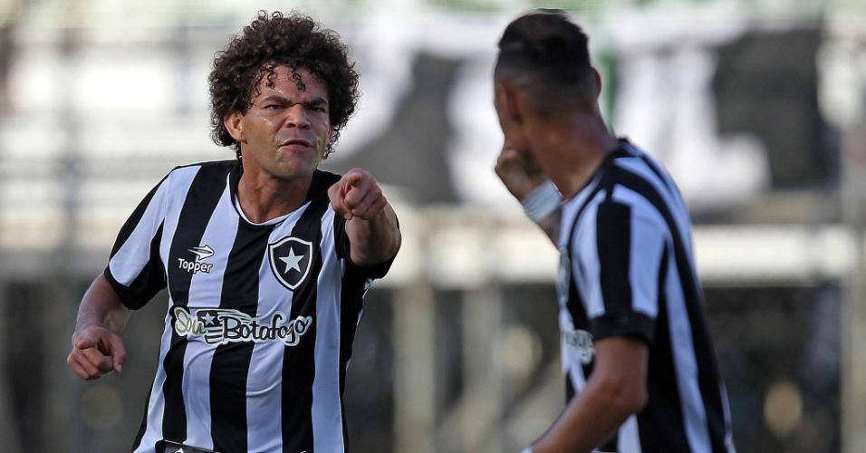Camilo comemora golaço do Botafogo contra Grêmio