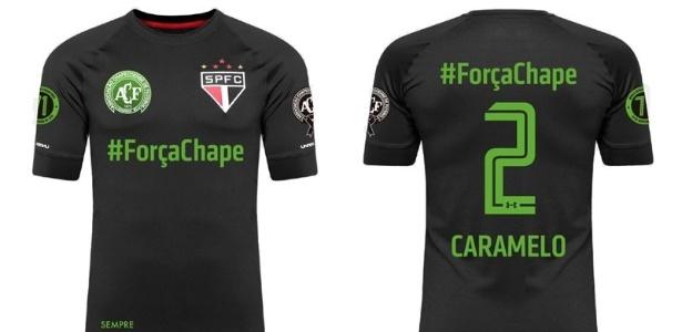 Camisa do São Paulo em tributo à Chapecoense 48c0e201ea4c1