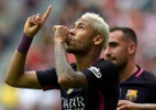 Neymar está a um gol de superar Ronaldinho Gaúcho na Liga dos Campeões