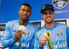 Sem regalias, dupla de ouro sofrerá ápice do assédio com título do Grêmio - Lucas Uebel/Divulgação Grêmio