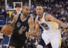 Warriors são surpreendidos em casa e estreiam com derrota para os Spurs - Kyle Terada/USA Today Sports