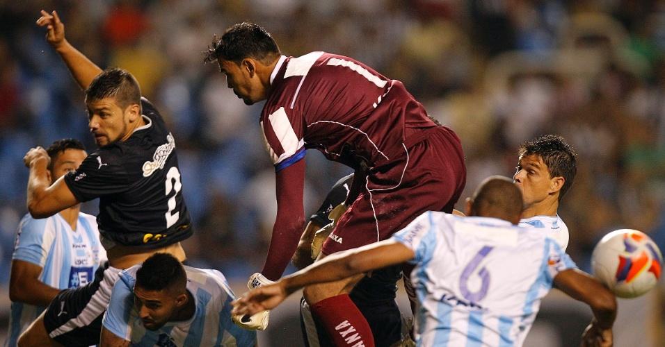 Rafael falhou feio e 'deu' o primeiro gol do Botafogo