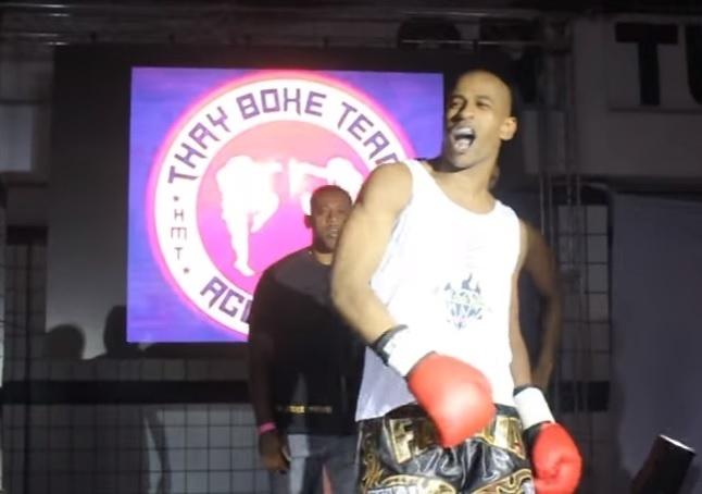 Aguinaldo Alves, lutador de muay thai