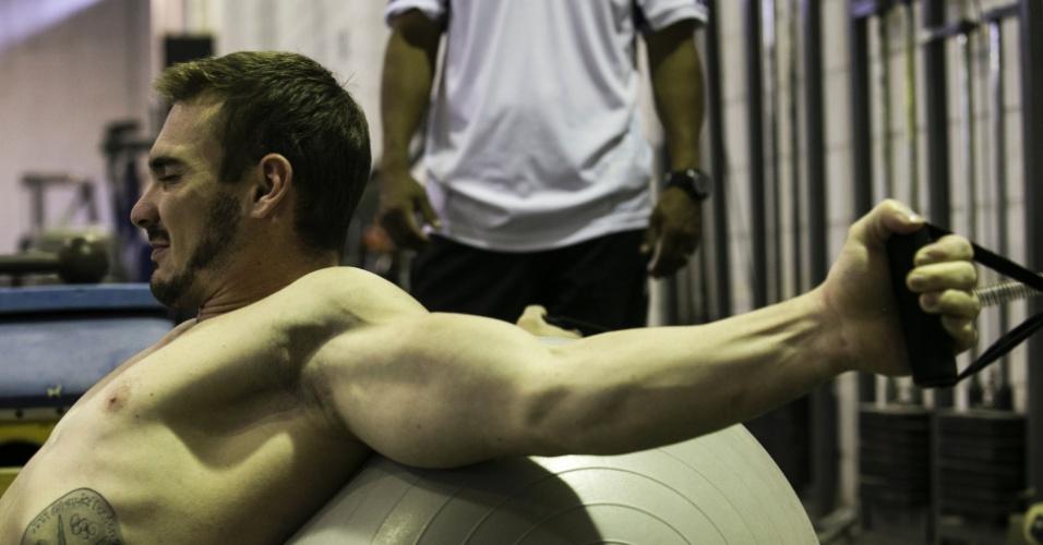 Especial Arthur Zanetti: fisioterapia