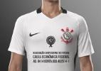 Camisa do Corinthians terá conta bancária da Chape no lugar do patrocinador