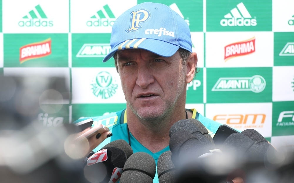 Cuca Palmeiras treino Atibaia
