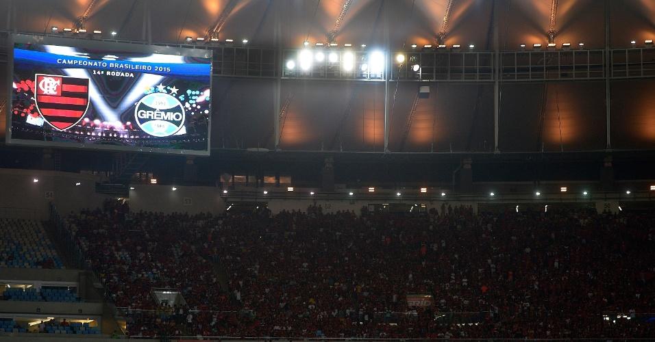 Flamengo e Grêmio se enfrentam no Maracanã, pela 14ª rodada do Campeonato Brasileiro