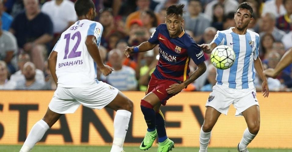 Recuperado de caxumba, Neymar participa do duelo contra o Málaga