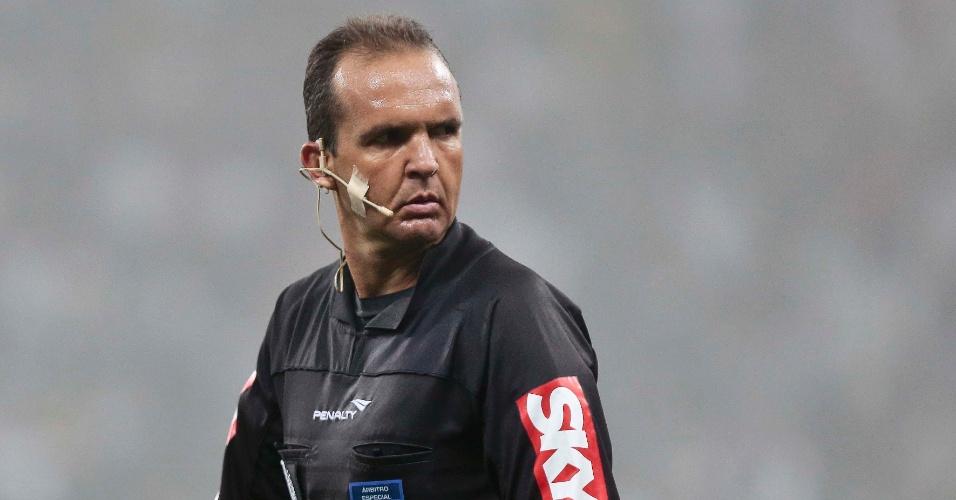 André Luiz de Freitas Castro apitará pela terceira vez uma partida entre Palmeiras e Flamengo