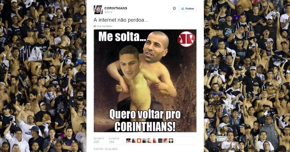Corintianos não perdoam Guerrero e Sheik após vitória contra o Flamengo