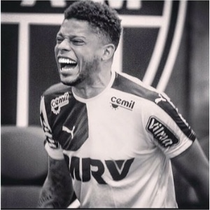 André apagou o emblema do Atlético-MG em montagem postada em redes sociais