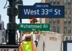 Nova York nomeia rua