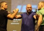 McGregor alfineta Nate Diaz: 'Ganhou na loteria na primeira luta'