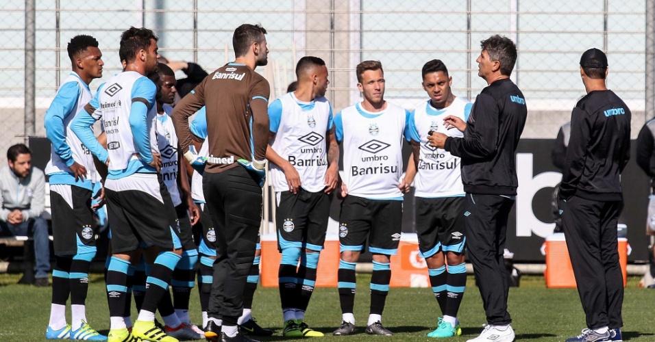Renato Gaúcho vai abusar da conversa para implantar trabalho no Grêmio