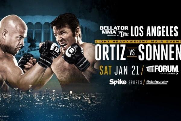 Ortiz e Sonnen no Bellator