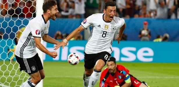 Alemanha está na semifinal da Eurocopa 2016