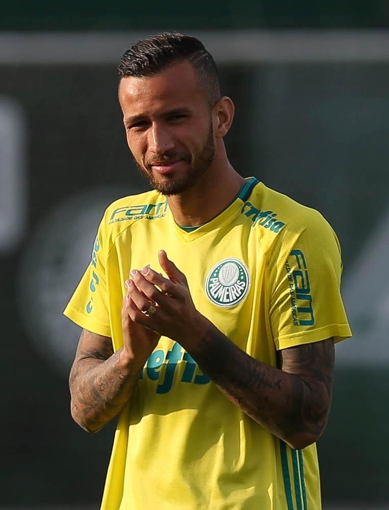 Leandro Pereira treino Palmeiras