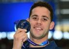 #SemanaOlímpica Thiago Pereira é eleito entre os melhores do mundo de 2015 - Christophe Simon/AFP Photo