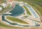 Rio inaugura pista de canoagem slalom da Olimpíada com evento-teste