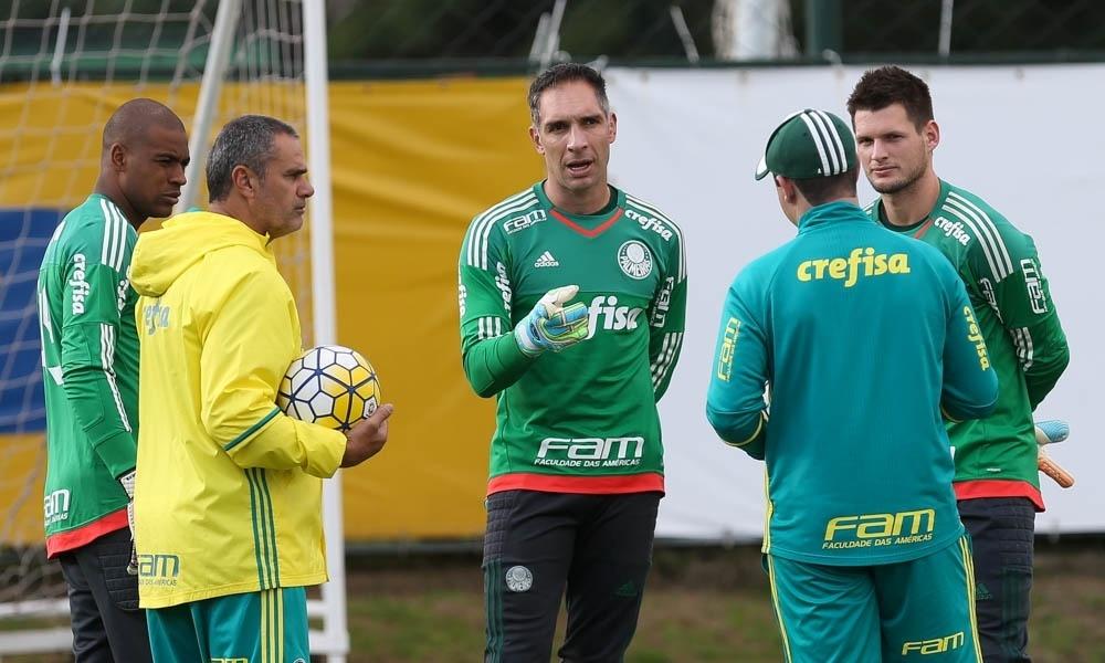 Fernando Prass Jailson Vagner Oscar Rodriguez Palmeiras