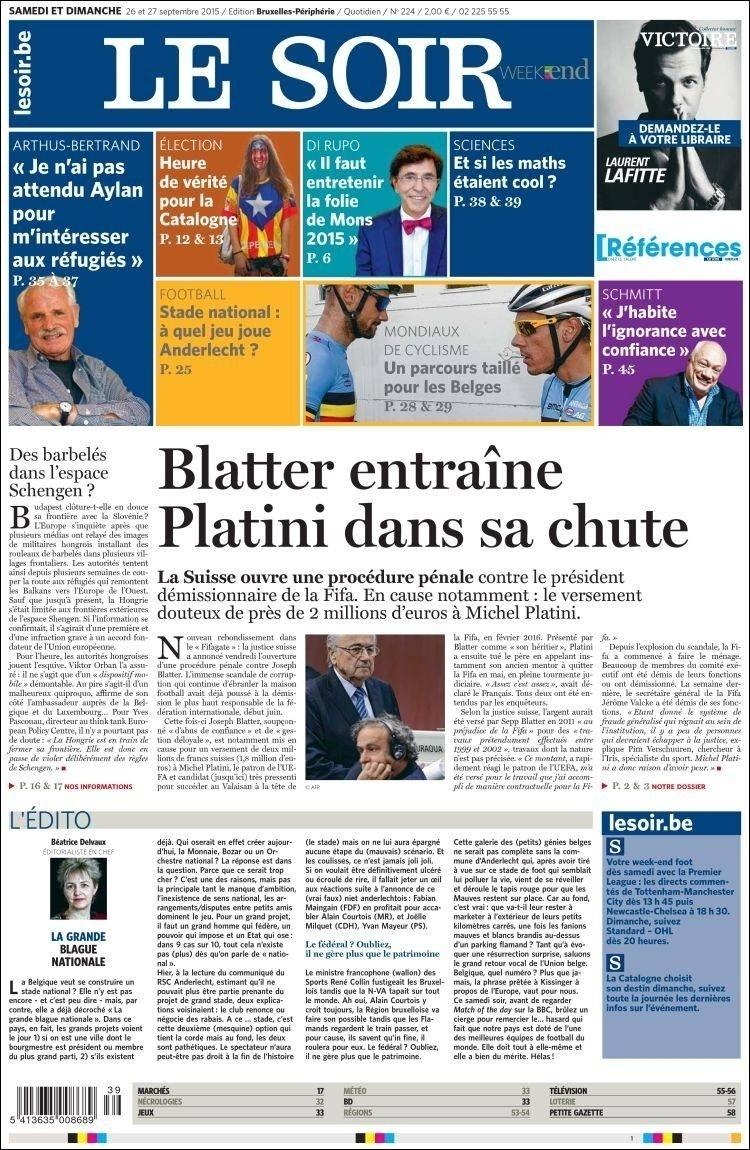 Le Soir (Bélgica):