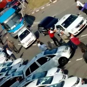 Reprodução/Sindicato dos Taxistas