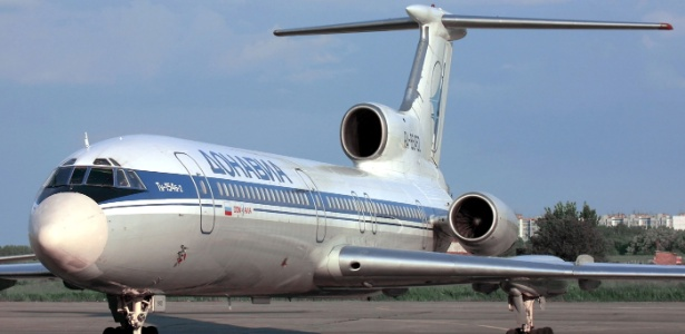Avião é do mesmo modelo que este, fotografado em janeiro de 2001
