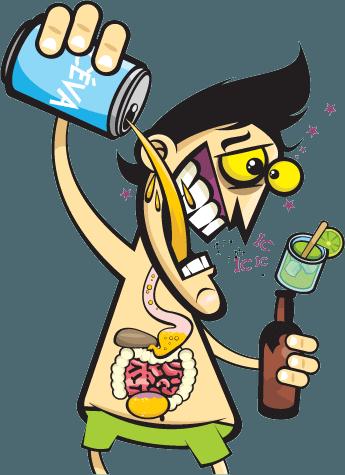 Tratamento de alcoolismo por meio do raio laser