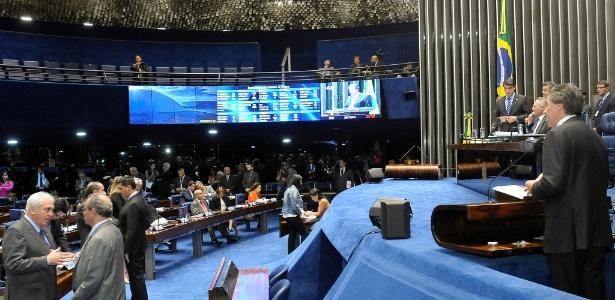 29.nov.2016 - Senadores debatem e votam PEC do teto dos gastos públicos