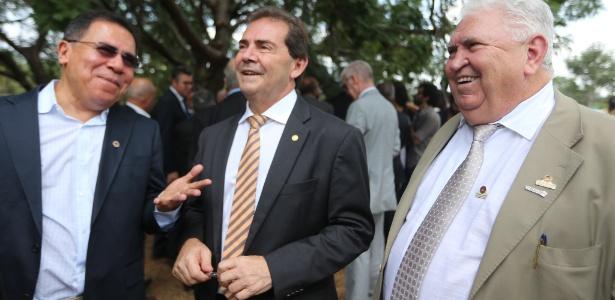 Paulinho da Força deixa o Palácio do Jaburu, residência oficial de Temer, em abril