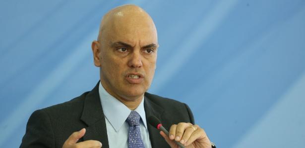 Ministro Alexandre de Moraes, em anúncio nesta sexta