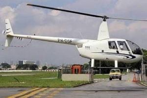Helicóptero roubado por um homem vestido de Papai Noel em São Paulo