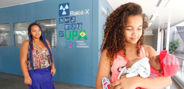 Mulher com filho deixa UPA de Copacabana por falta de atendimento no último dia 21 de dezembro