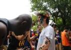 Estudantes protestam por merenda em SP - Márcio Fernandes/Estadão Conteúdo