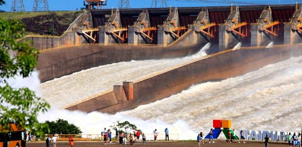 Brasil teria capacidade para gerar 1/3 da energia elétrica de Itaipu (foto) com resíduos orgânicos