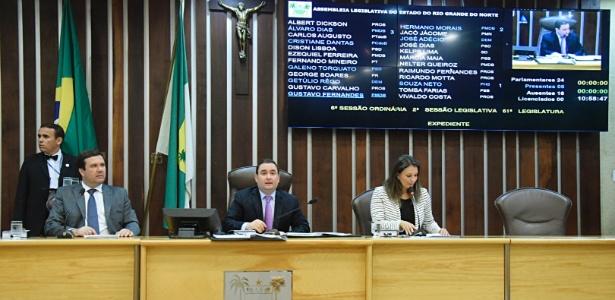 Sessão ordinária da Assembleia do Rio Grande do Norte