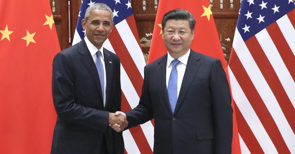 Obama se encontrou com presidente chinês Xi Jinping antes da cúpula do G20