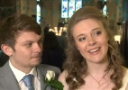 Contra desperdício, noivos servem em casamento comida que ia para o lixo - BBC