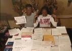 Gêmeos acumulam 62 aprovações nos EUA e mais de R$ 5 milhões em bolsas - Arquivo pessoal