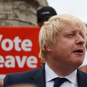 Boris Johnson, ex-prefeito de Londres