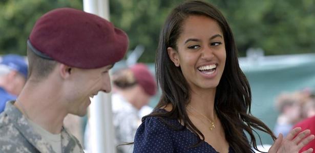 Malia Obama, filha do presidente dos EUA
