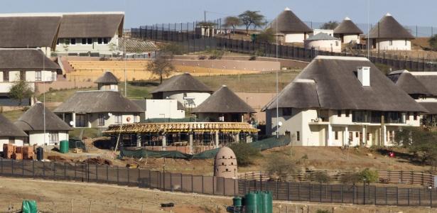 Vista geral da residência do presidente da África do Sul, Jacob Zuma, em Nkandla, em foto de arquivo