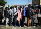 Haitianos se abrigam de forma precária na fronteira entre México e EUA; crise migratória aumenta